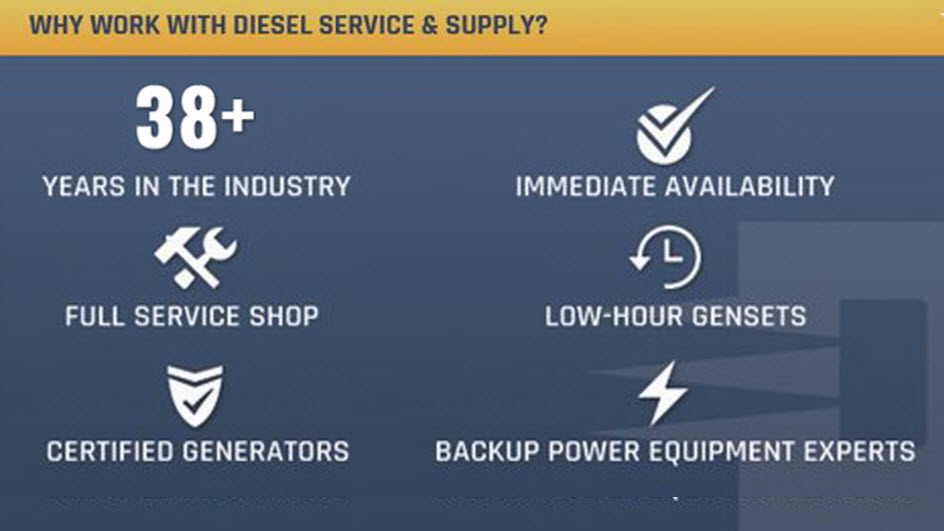 Why Diesel Service and Supply