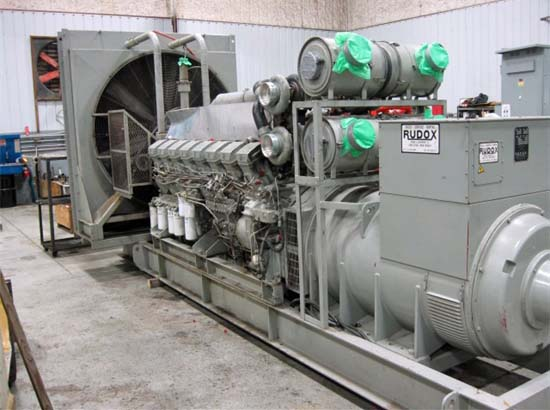 Indoor Diesel Generator Set