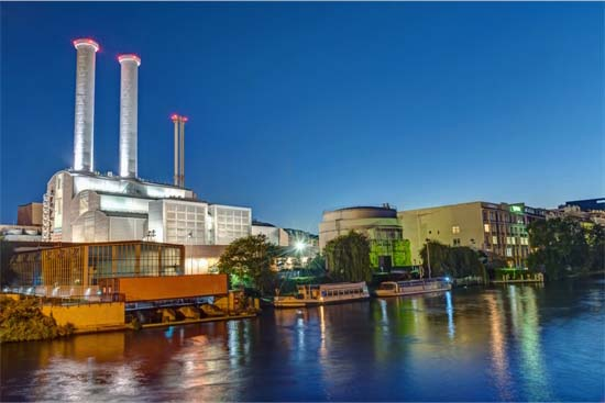 Cogeneration Plant in Berlin Germany
