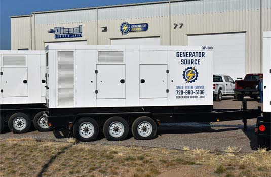 Portable Generator Ready to Supply Power