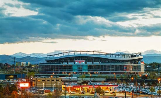 Mile High Stadium Denver Co.