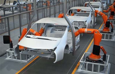 Automated Electric Car Manufacturing