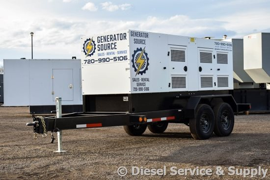 Portable Power Diesel Generator
