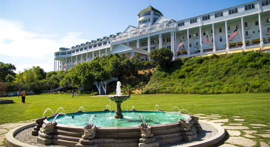 Grand Hotel, Mackinac Island, Lake Michigan