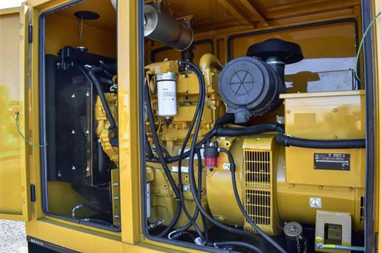 Caterpillar Engine & Generator Installed in Enclosure