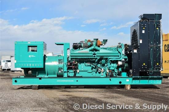 Cummins Generators - Industrial Backup Power using Diesel