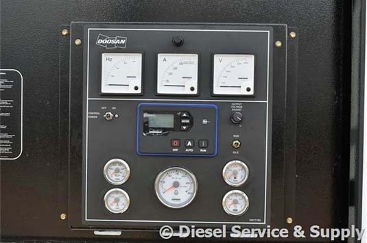 Doosan Generator Controls & Indications