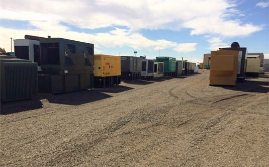 Outdoor Generators Ready for Shipment