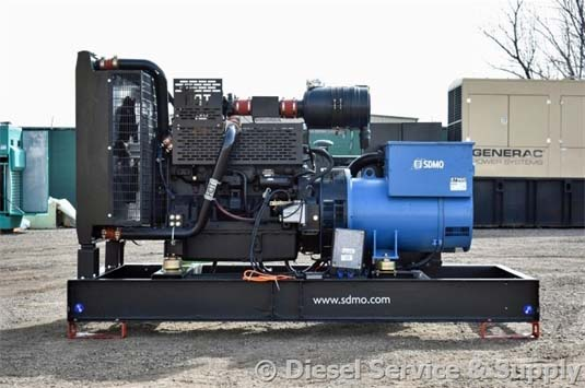 SDMO Generator Driven by John Deere Engine