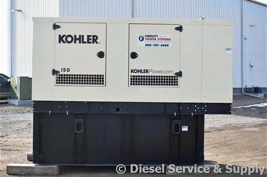 Kohler Outdoor Generator Powered by John Deere Engine