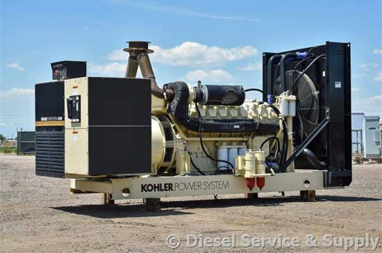 Kohler Generators provide Industrial & Commercial Power