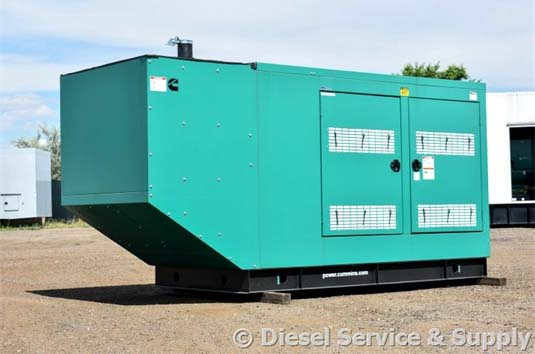 New Cummins 200 kW Outdoor Generator
