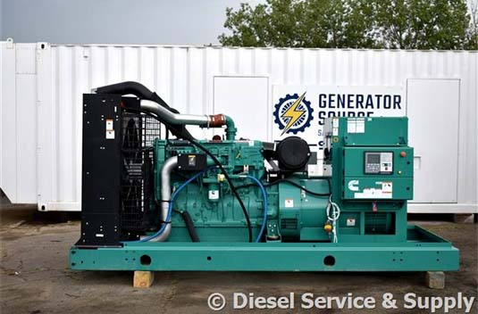 New Cummins 450 kW Indoor Generator