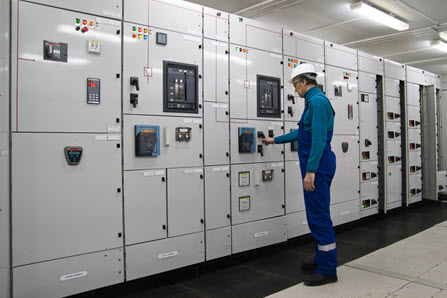 Electrical Switchgear in Plant