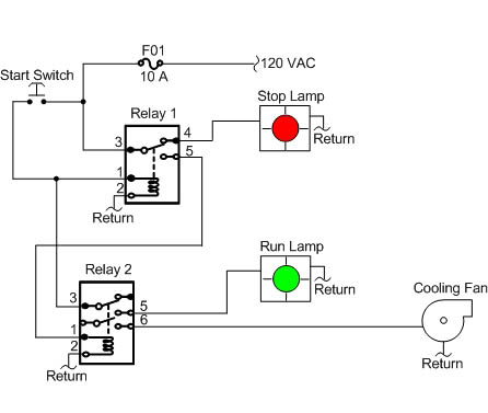 electromagnetic relay logic circuits