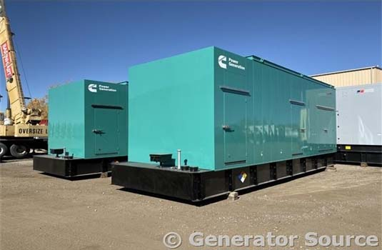 Cummins 1500 kW Generators