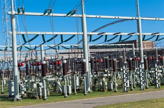 Substation for Utility Power Supply