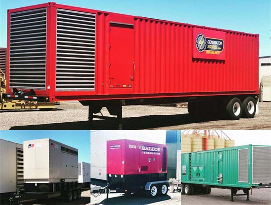 Portable Rental Generators