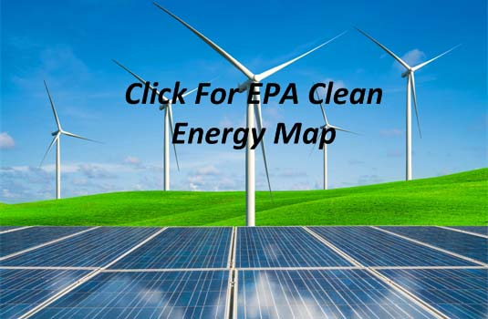 Click Image for EPA Clean Energy Map