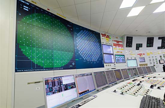 Advanced Control Room Nuclear Power Plant