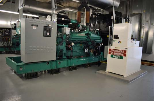 Indoor Emergency Generator Configuration
