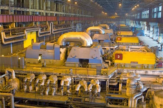 Fossil Fuel Plant Steam Turbines