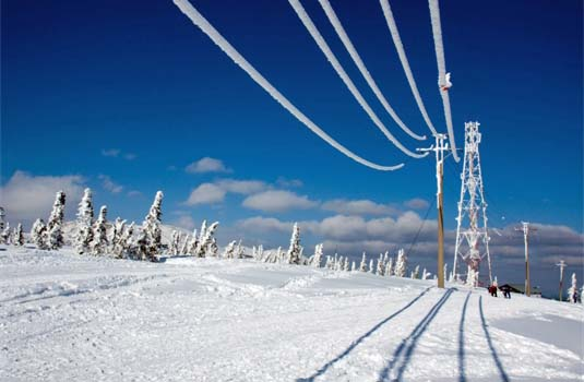 Heavy Snow & Ice Storms Can Cripple Electrical Infrastructure