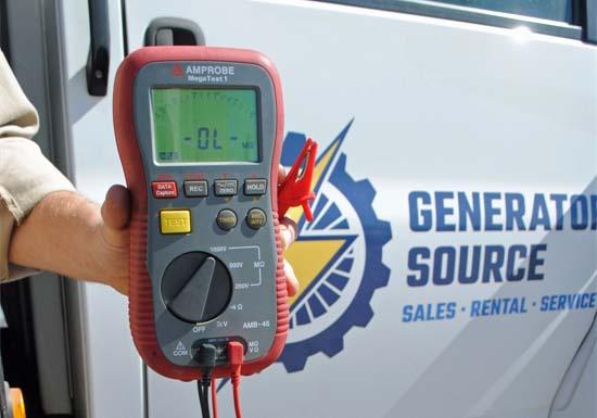 Generator Diagnostic Tools | Hand-Held Meters | Multimeter