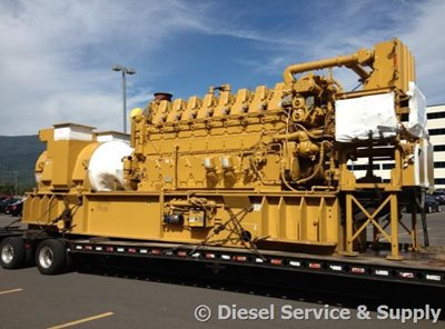 4 5 MW Power Plant - 2250 kW Caterpillar 3608 Diesel Generators
