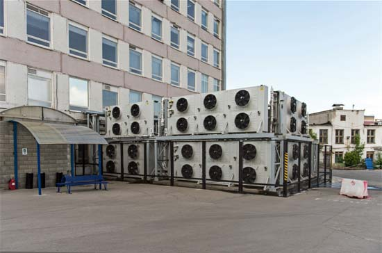 Industrial Outdoor Chillers