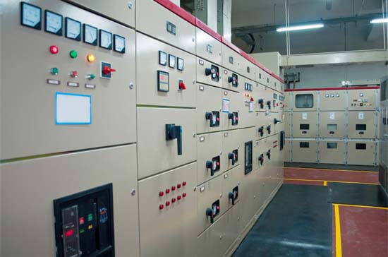 Electrical Distribution and Control Room