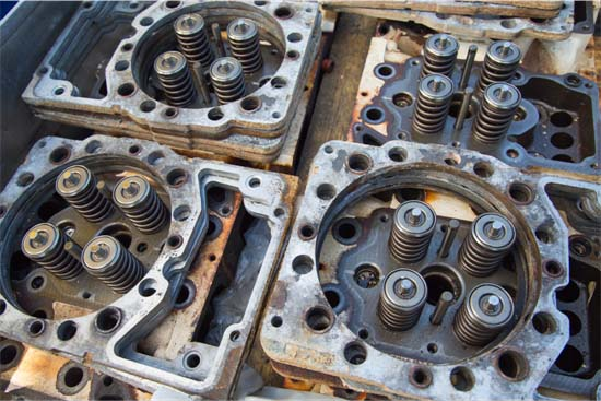 Heavy Repair with Cylinder Heads
