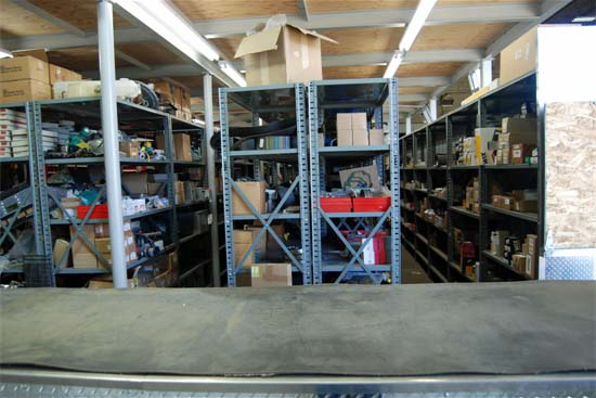 Stocked Parts Department