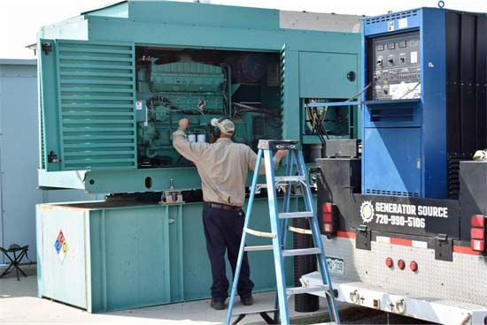 Generator Load Test Arapahoe County Well