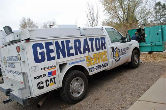 Repairing Fire House Emergency Generator