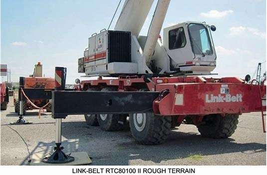 Crane for Caterpillar 2000 kW Generator