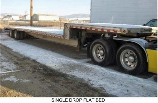 Flat Bed Trailer for Cummins 800 kW Generator