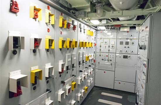 Industrial Control and Distribution Panel