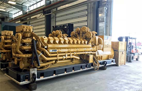 Medium Voltage Caterpillar Emergency Generator