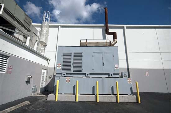 Industrial Backup Generator Installation