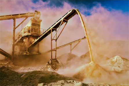 Rock Crushing Plant