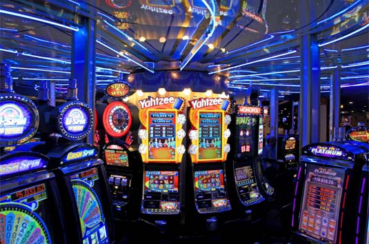 Casino Electronic Gaming Room