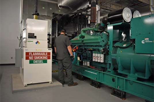 Maintenance & Testing for Indoor Emergency Generator