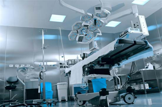 Operating Theatres Require Constant Power