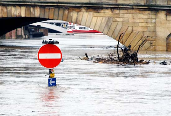 Floating Debris & Flood Waters Cause Maximum Damage
