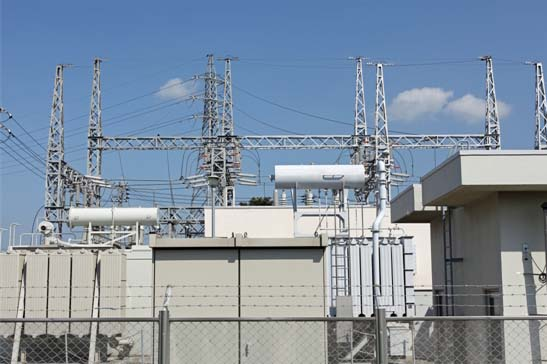 Electrical Substation and High Voltage Towers