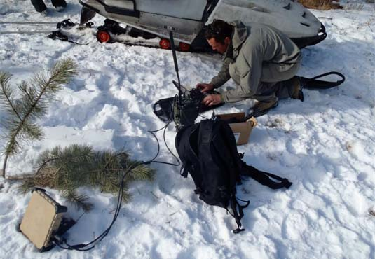 Advanced Communications in Cold Snow Environment