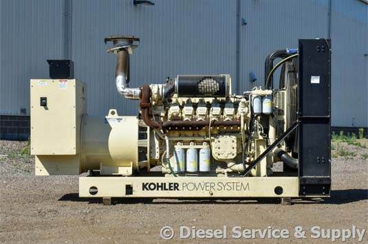 Kohler 600 kW Generator Ready for Service