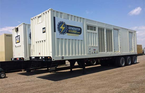 Caterpillar Portable Generators at the Ready