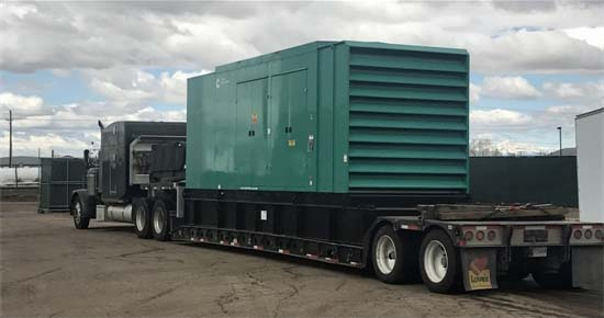 Cummins Generator Shipping to Customer